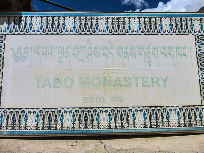 A day-trip to Tabo Monastery