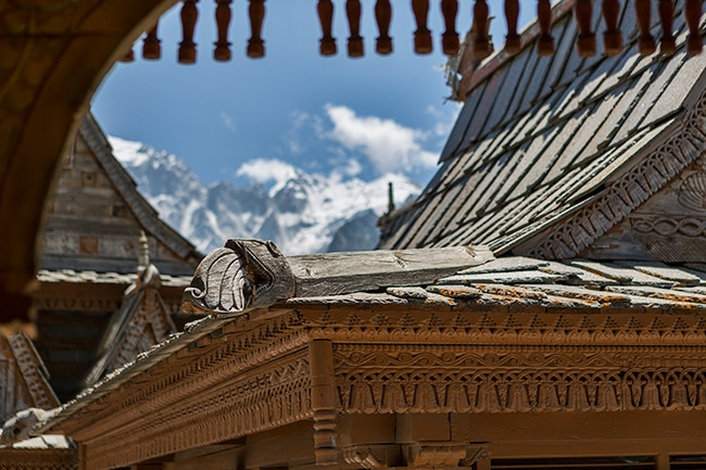 The Hindu Temple in Kalpa