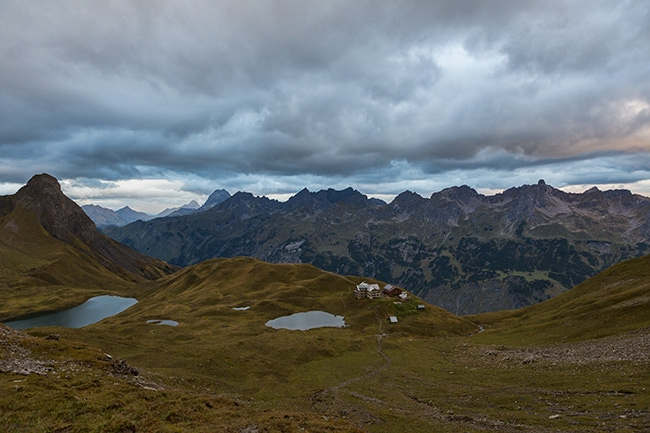 Trekking in the Allgäuer Alps – Day Two