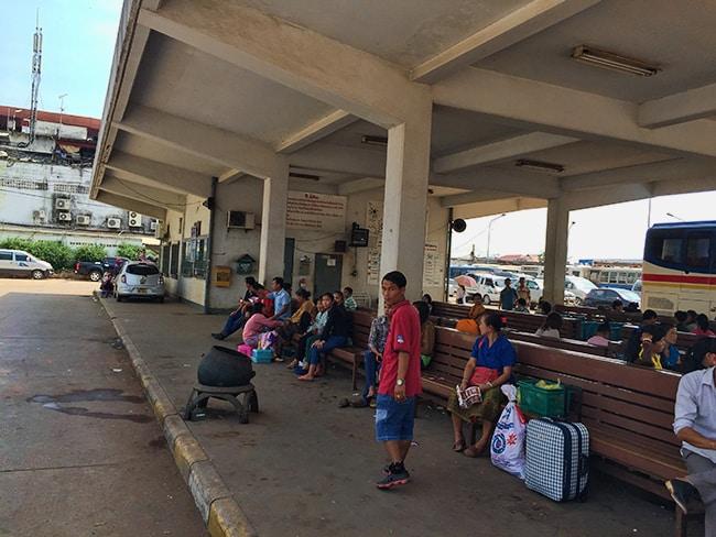 Vientiane bus station