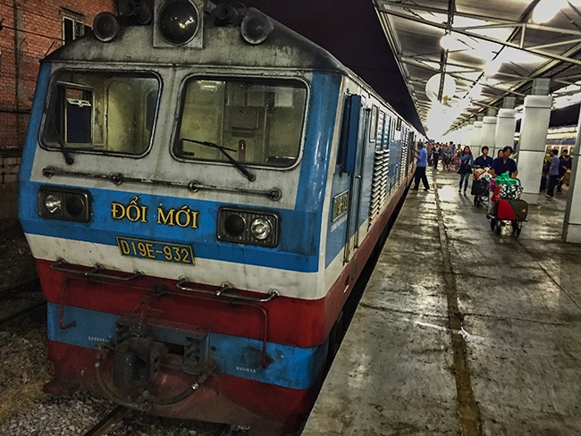 30 hours on the Train from Hanoi to Saigon