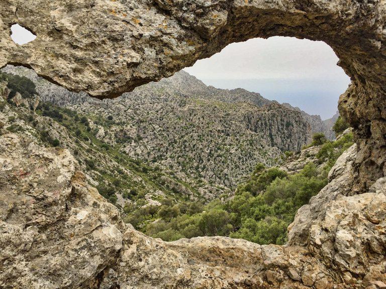 Hiking the Torrent de Pareis in Majorca