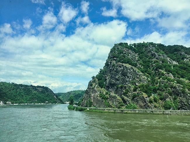 Along the river Rhein