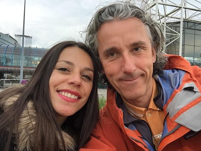 Lina and me