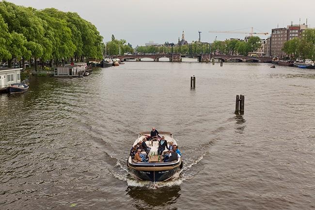 Cruise Boat in Amsterdam