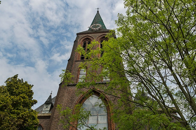 The tower of Augustinuskerk