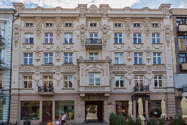Old House in Piotrkowska Street