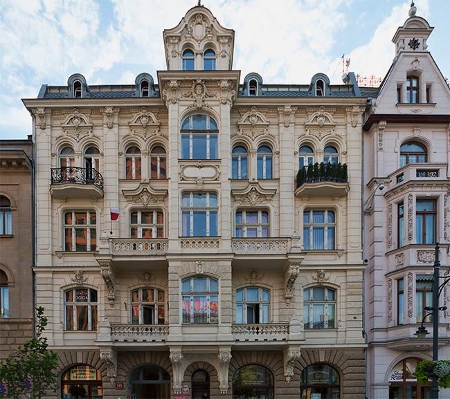 House in Piotrkowska Street