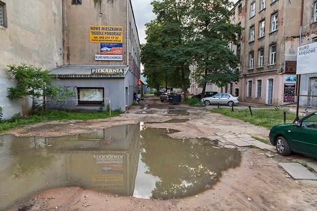 Parking in Lodz