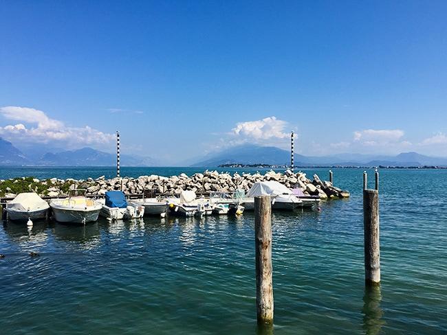 Rivoltella at the Lake Garda