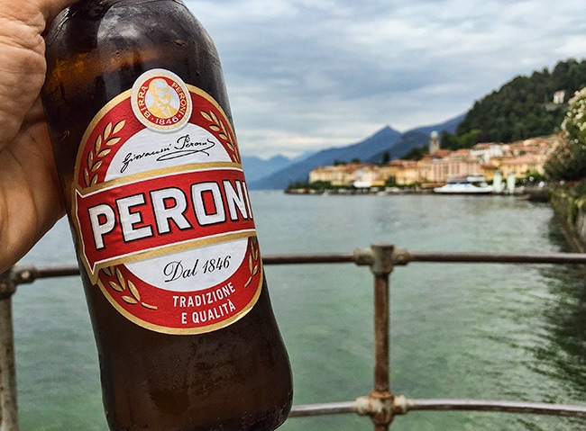Peroni in Bellagio