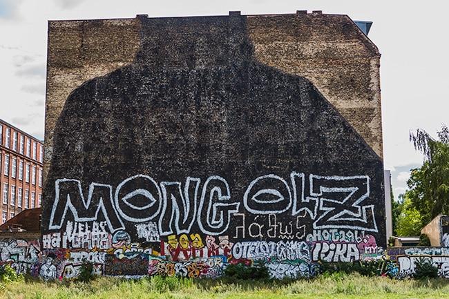 Mongolz Street Art Berlin