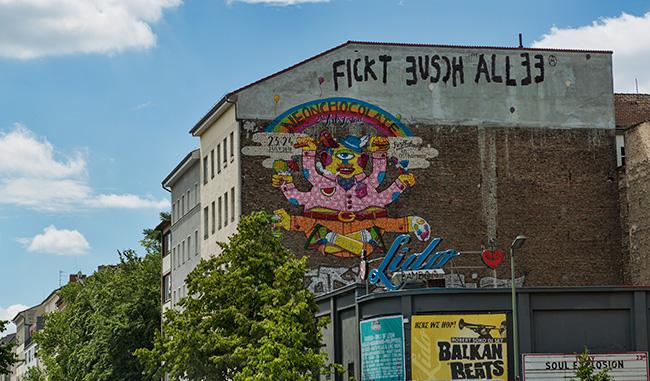 Fickt euch alle Berlin