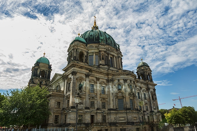Berliner Dom from the back