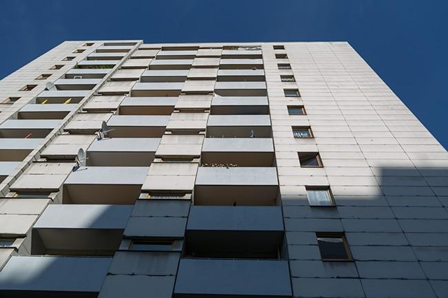 Not so modern building