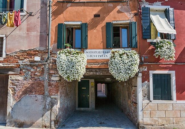 Entrance at Fondamenta De Cannaregio
