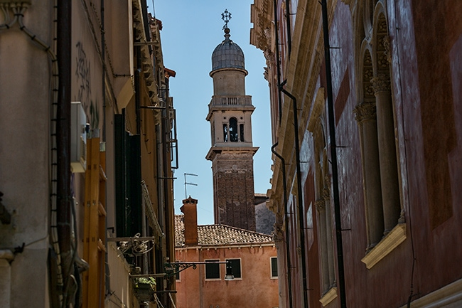 The tower of the Chiesa di San Rocco