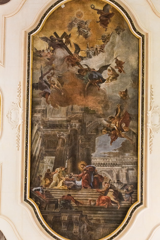 Santi Apostoli Ceiling by Fabio Canale