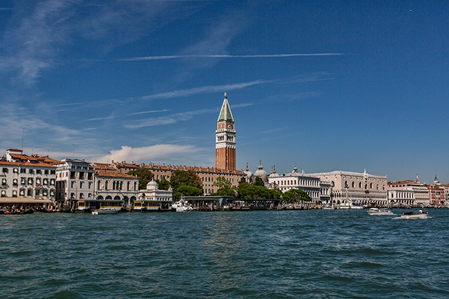 View towards San Marco