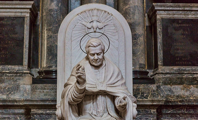 Monument to St. Pius X by Antonio Baggio