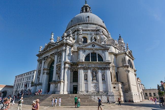 The Basilica di Santa Maria della Salute