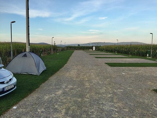 Campground close to Otok Ostarijski
