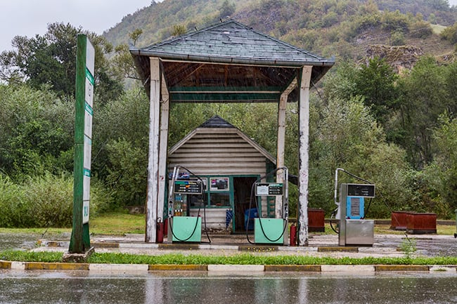 Gas Station in Bosnia
