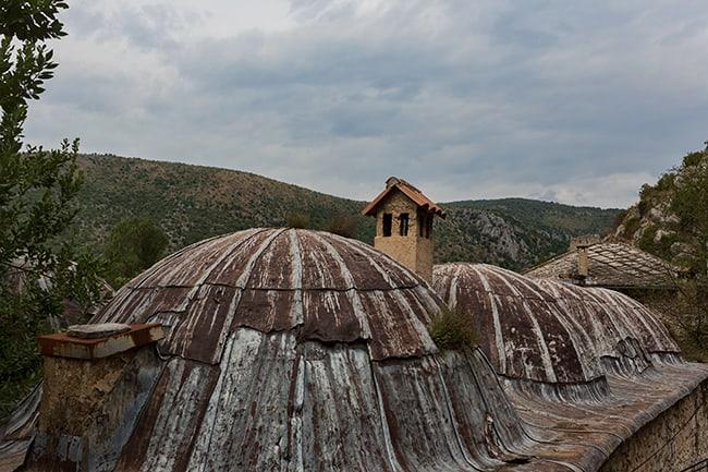 Roof in Počitelj