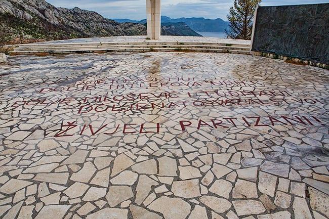 War Memorial near Pijavicino