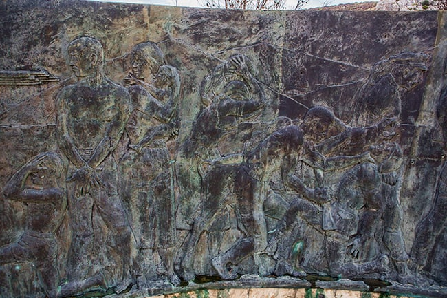 Details from the War Memorial near Pijavicino - part2