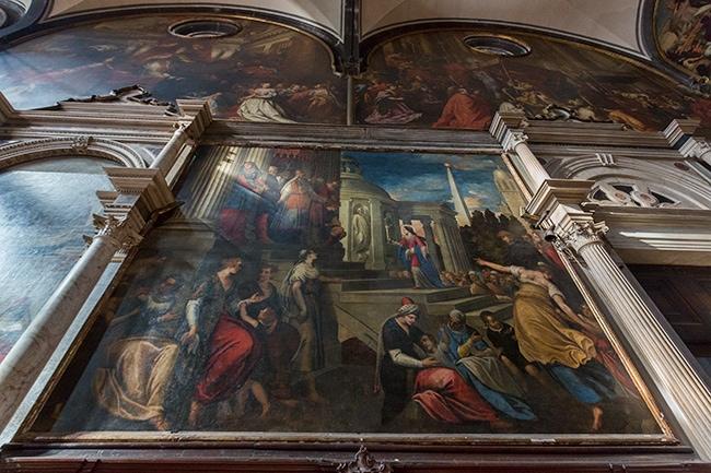 Presentazione di Maria al tempio from Antonio Vassilacchi