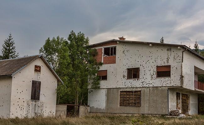Close to Gračac, Croatia