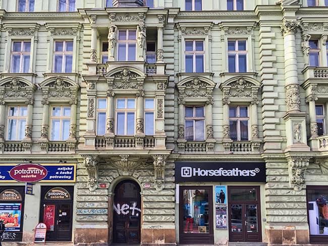 House at Klatovska trida Street