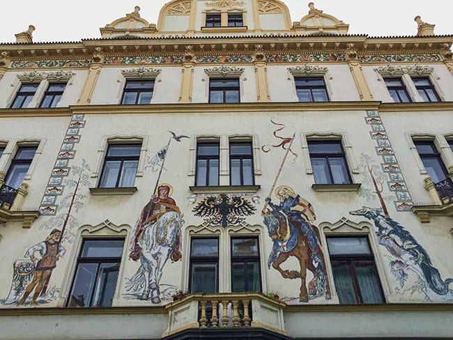 House in the Bezrucova street