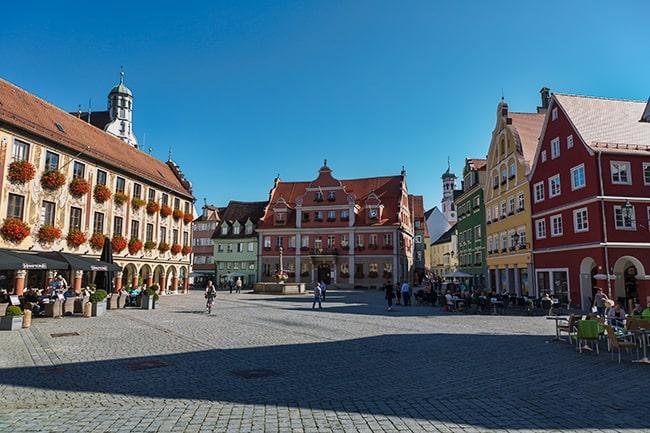 Market square Memmingen