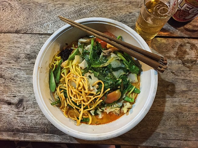 The first Khao Soi this winter