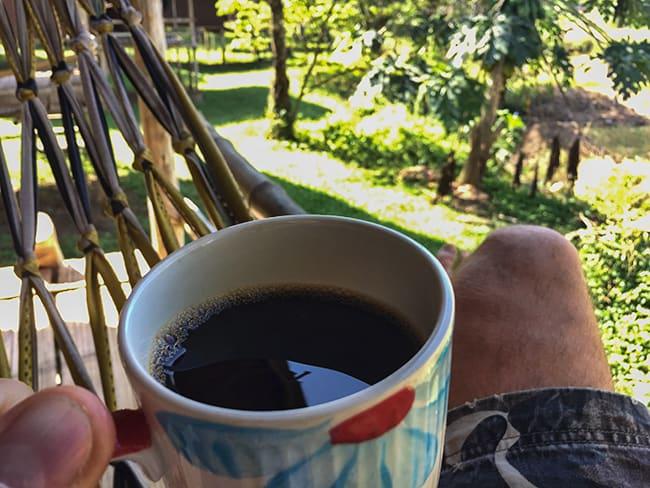 Morning at Twin Hut