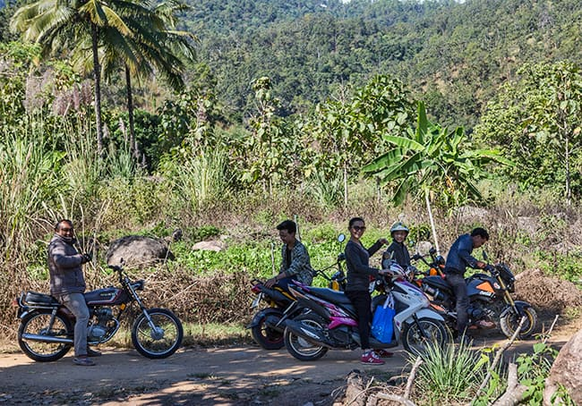 Bike trip with Sapah Muang