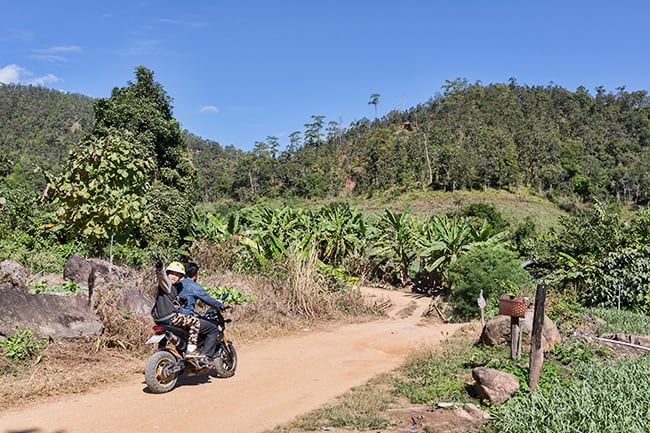Bike trip with Sapah Muang