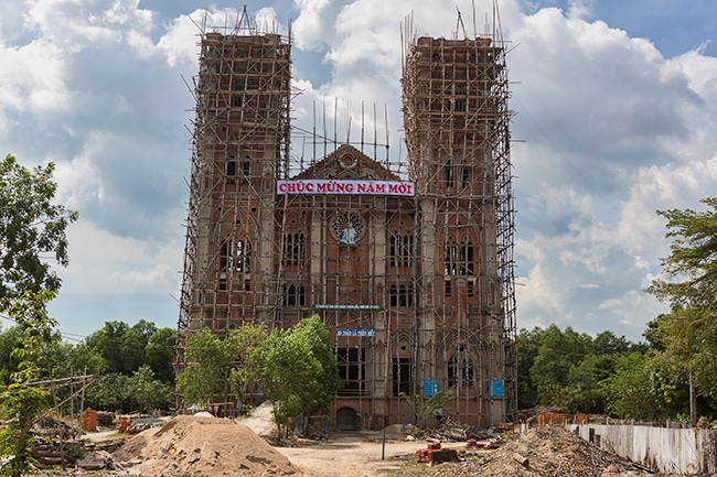 New church in Xã Tân Phước