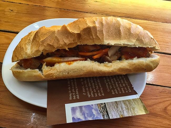 Bánh mì - Vegetarian