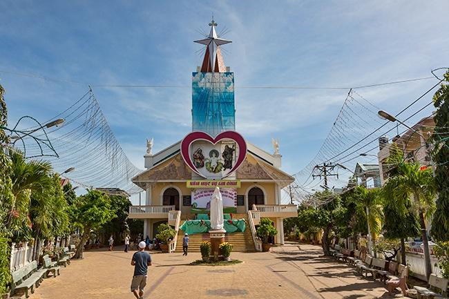 Church in tx. La Gi