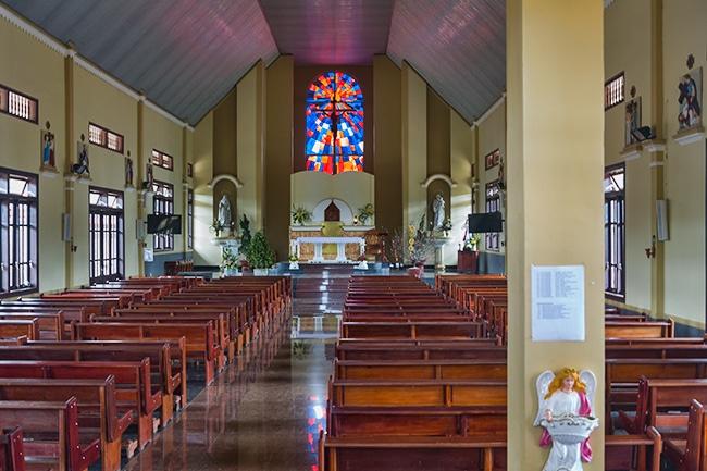 Church along the QL 28