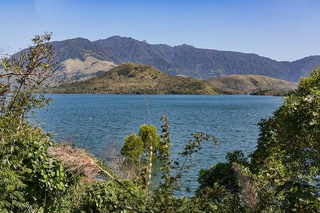 Lake a few kilometres after Khe Sanh