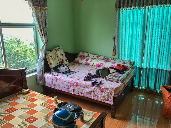 My room at the Sapphire Truong Thinh
