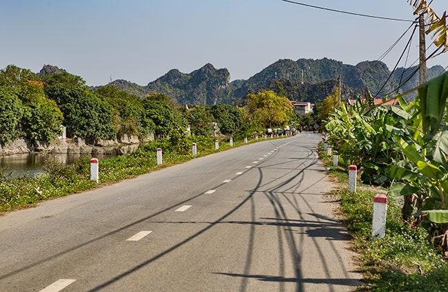 Motorbiking round Ninh Binh