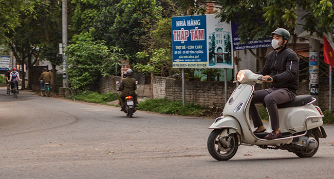 Guy on a Motorbike