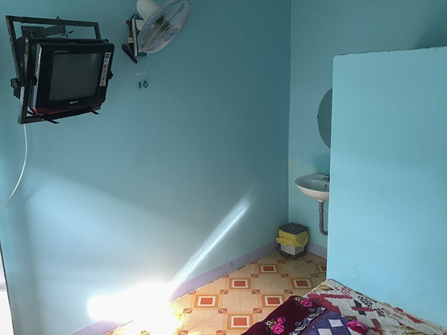 My room at the Dai Thanh Guesthouse