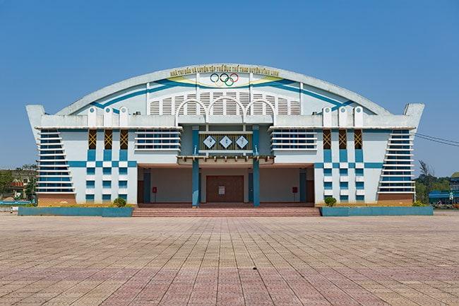 Sport hall in Hồ Xá