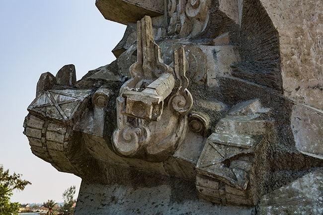 Detail of the Memorial